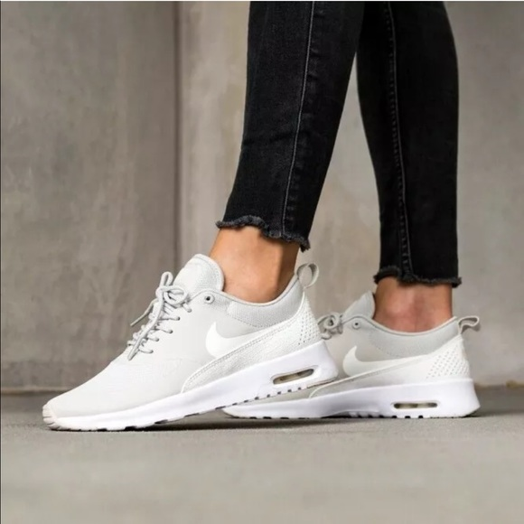 Women's Nike Air Max Thea Light Bone Sneakers NWT